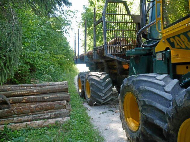 Ett lågtrycksdäck för skogsmaskiner, Alliance Forestar 344 ELIT, får utmärkelsen Ingenjörernas val i samband med jord- och skogsteknikutställningen Agritechnica i Tyskland.