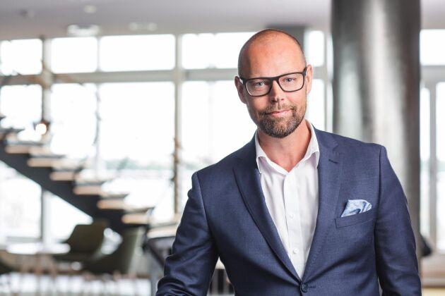 Marcus Svensson, presschef på Södra.