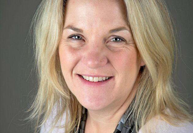 Sigrid Agenäs, är professor i skötsel av idisslare vid Institutionen för husdjurens utfodring och vård vid SLU.