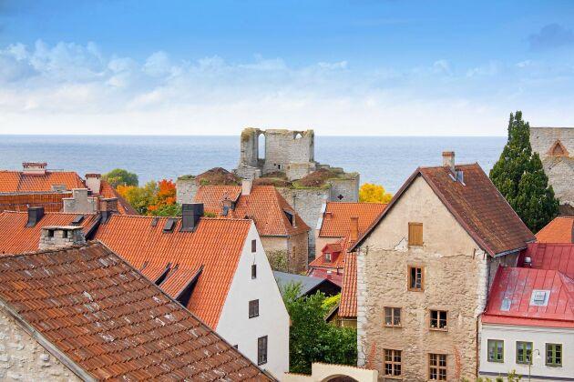 Visby på Gotland.