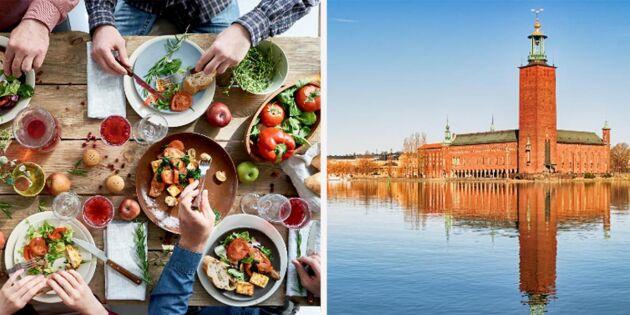 Stockholms stad ska halvera köttkonsumtionen