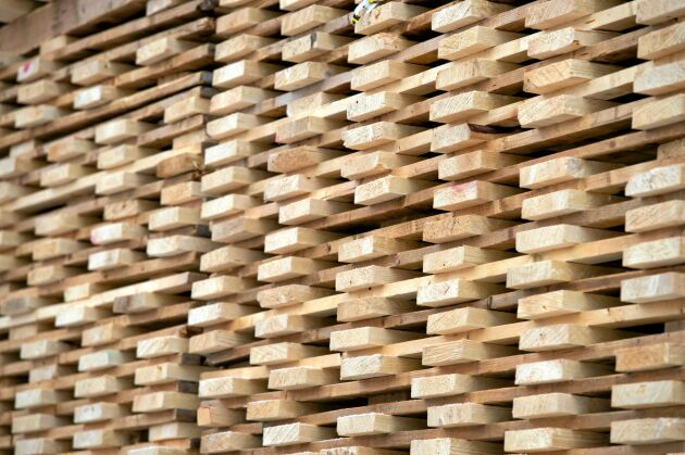 Sverige är en av världens största exportörer av sågat virke.