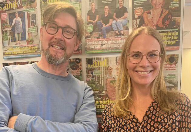 Landpodden om svenska råvaror. Joel Linderoth från Land och Ulrika Norvell från organisationen Svenskmärkning pratar om sommarmat.