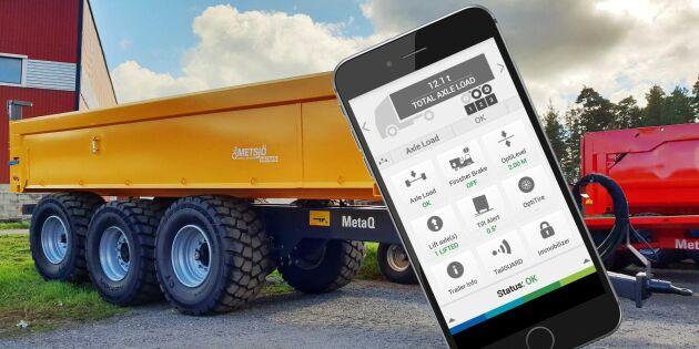 Metsjös flakväxlarvagnar blir digitala