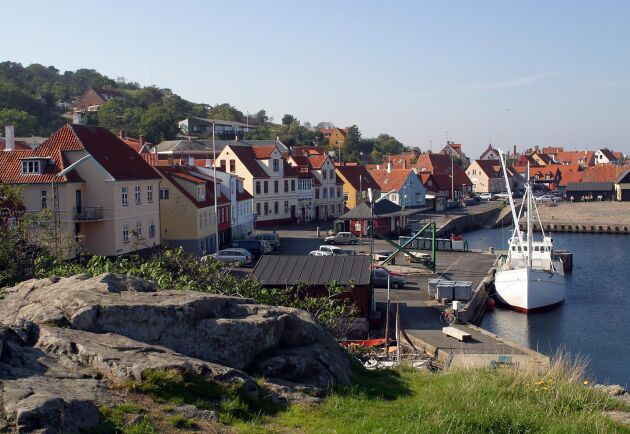Gudhjem på Bornholm.