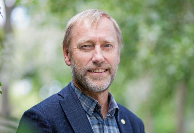 """""""Många av preciseringarna i Levande skogar går inte att nå, och därför anser vi att det är dags att se över dem"""", säger Paul Christensson, ordförande för LRF Skogsägarna."""