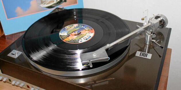 Glöm Spotify –vinylskivan är tillbaka!