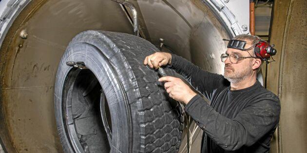 Ökade krav på vinterdäck för lastbilar