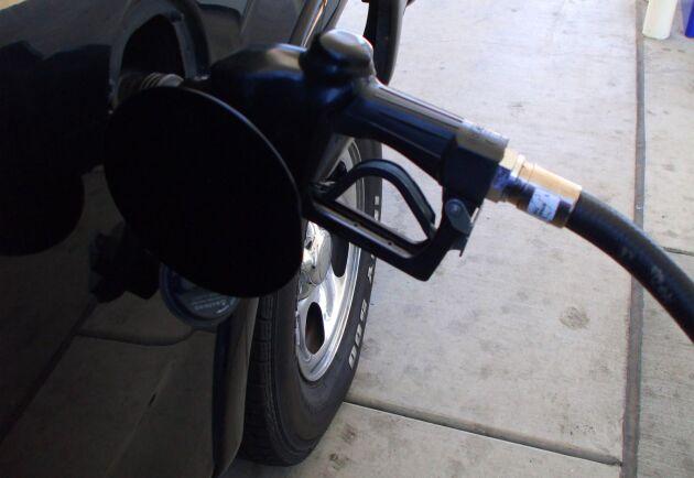 Det nya riktpriset på diesel är nu 16,34 kronor/liter.
