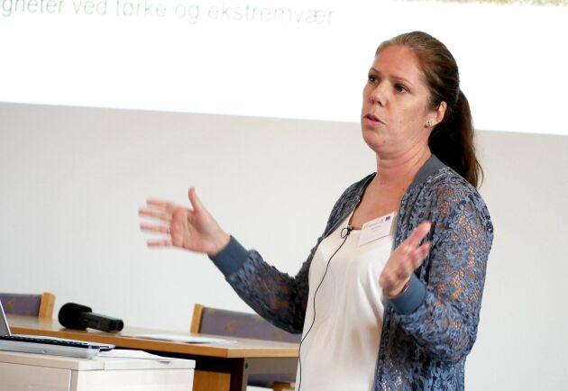 Silje Eftang från norska Nofence berättade om företagets virtuella stängsel.