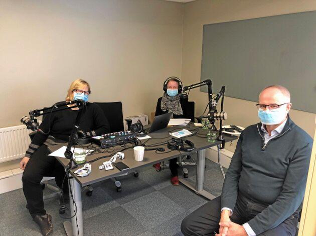 I nya avsnittet av Lantbrukspodden intervjuas LRFs förbundsordförande av Land Lantbruks chefredaktör Anna Nilsson och Lena Johansson, tidningens politiska chefredaktör.