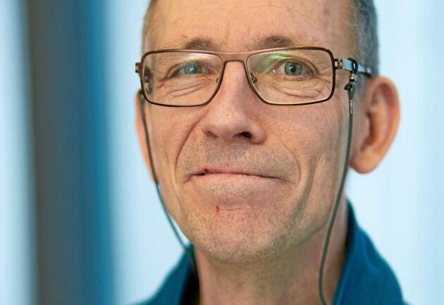 Peter Bergman, naturvårdschef på Sveaskog.