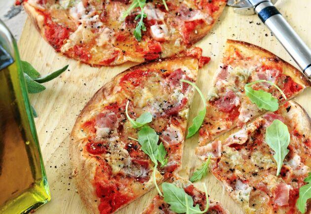 En pizza har aldrig varit enklare att sno ihop!