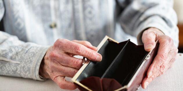 Många pensionärer behöver extra hjälp till jul