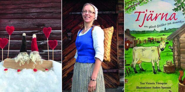 Ny hantverkare i Land Shopping: Victoria är fäbodkulla ända in i hjärtat