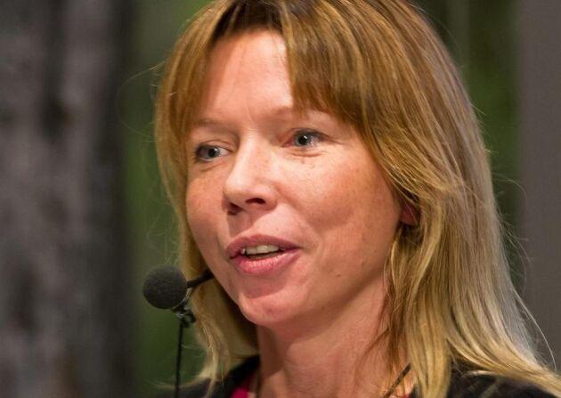 Marlene Johansson, föreståndare för Sliperiet, som ansvarar för projektet.