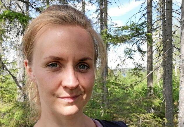 – Jag tror att vi kommer att komma fram till en produkt, säger Matilda Lindmark, som hittills sett positiva resultat av försöken.