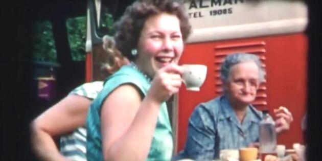 Semesternostalgi: se 50-talets roliga campingliv