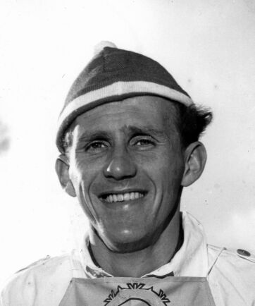 1956 stod Sixten Jernberg på toppen av sin enastående skidkarriär.