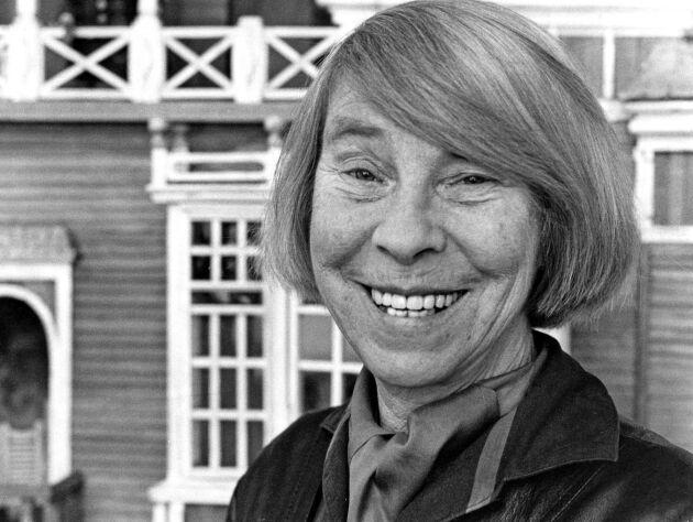 Mamma till Mumin. Mumintrollets skapare Tove Jansson 1980. 1980