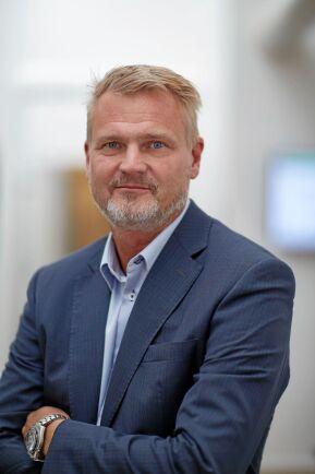 En hård och snabb Brexit skulle ställa till problem, sade Arla Sveriges VD Patrik Hansson vid en presskonferens i mars.