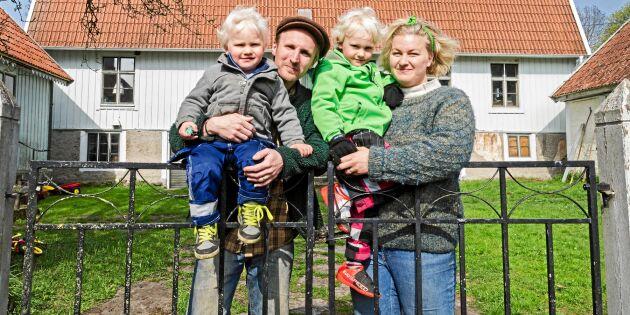 Anna och Julius fann sitt lugna drömliv på Öland