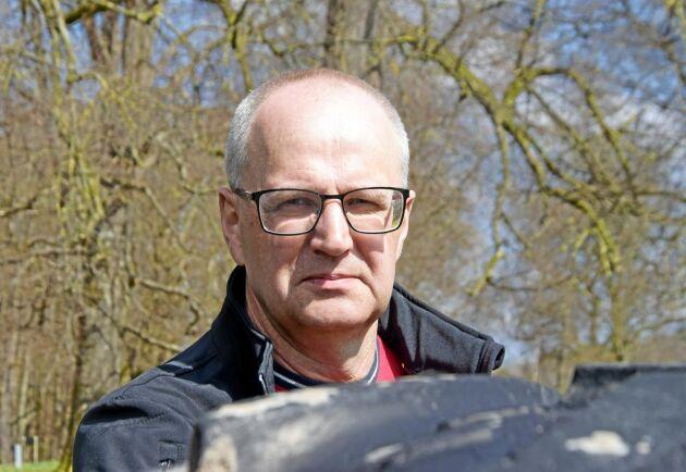 Palle Borgström, ordförande för LRF.