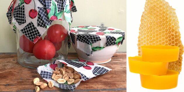 Så gör du egna bivaxdukar – perfekta till matförvaring!