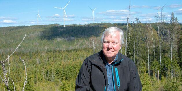 Han fick bygden att satsa på vindkraft – gör miljonvinst