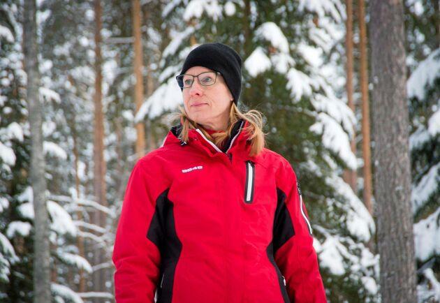 Eva Åkermans 25 skogsskiften i Stumsnäs, Rättviks kommun, ska bli färre och större i ett omarronderingsprojekt.