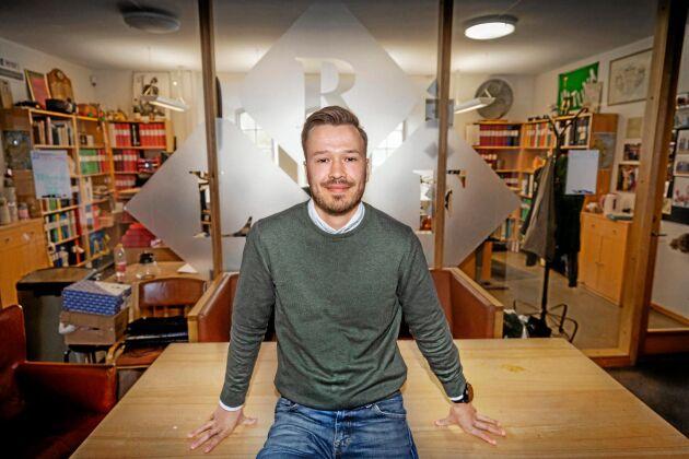 Jakob Nygårds, ordförande i Ultuna studentkår på SLU, tror att branschens kritik mot förändringen av agronomutbildningen beror på missförstånd.
