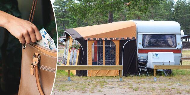 5 tips: Så undviker du stölder på campingsemestern