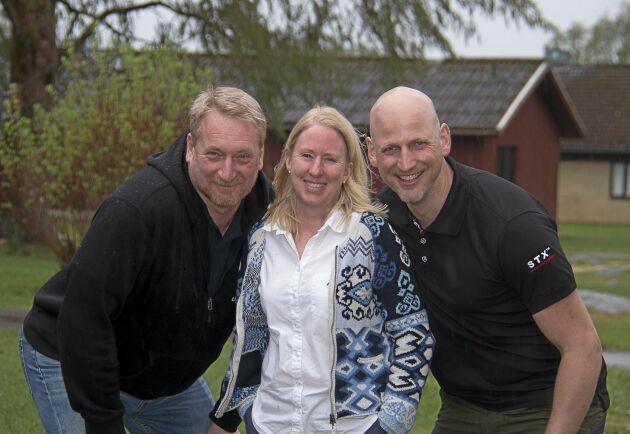 Per Mogren, Chriss Mellgren och Markus Bäckström är trion som driver Lilleruds UF-företagare framåt.