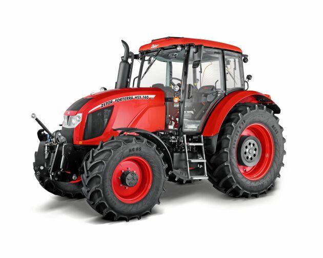 """Zetor Forterra Hsx är en av finalisterna i tvälingen """"tractor of the year"""" 2019."""