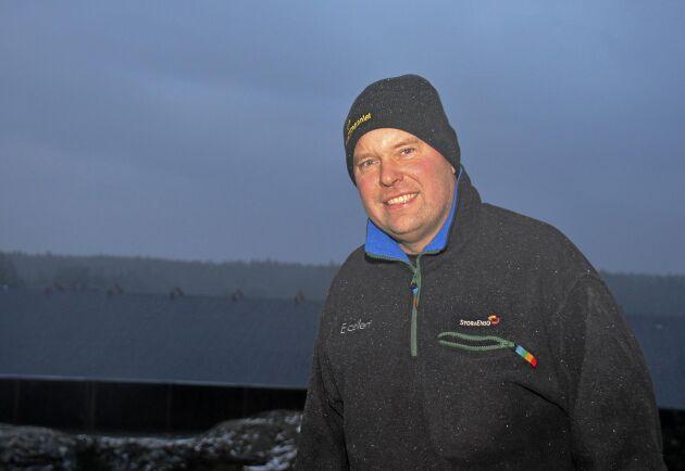 Johan Svantesson började med 12 kor 1992, i dag har han 330.