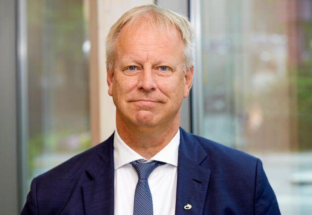 Per Lindahl, styrelseordförande Lantmännen. Pressbild.