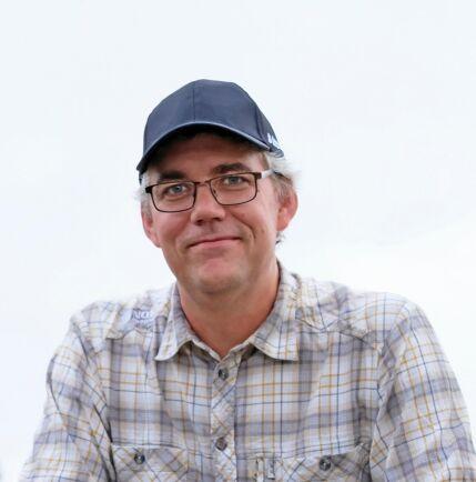 Mattias Hellgren, skogsinspektör på Norra Skogsägarna.