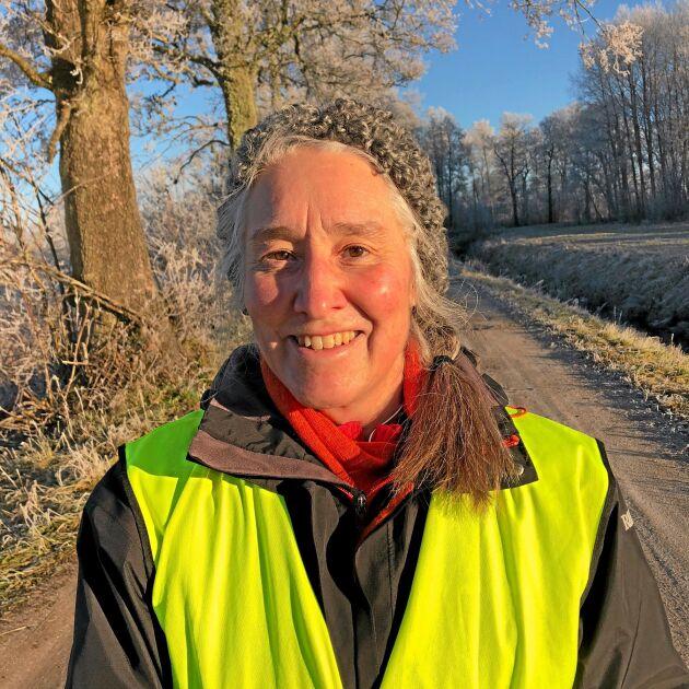 Maria Elinder, agronom och projektledare på Naturbruksskolornas förening.