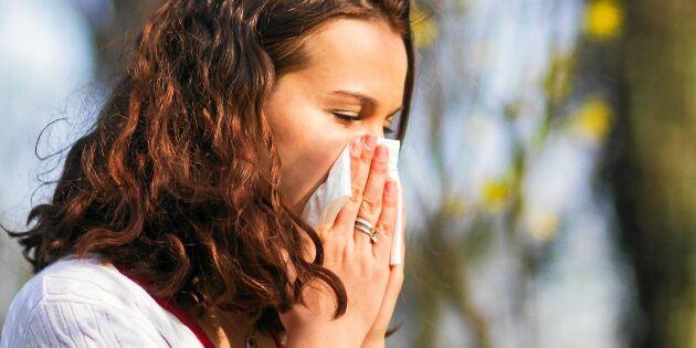 Checklista: Pollenallergi eller förkylning? Lär dig skillnaden