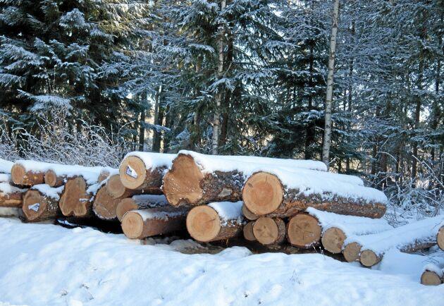 Priserna på leveransvirke steg kraftigt 2018, enligt Skogsstyrelsens statistik.