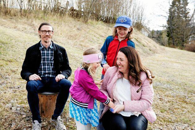 Christian är uppvuxen i trakten och nu känner sig även Tove och barnen sig hemma här.