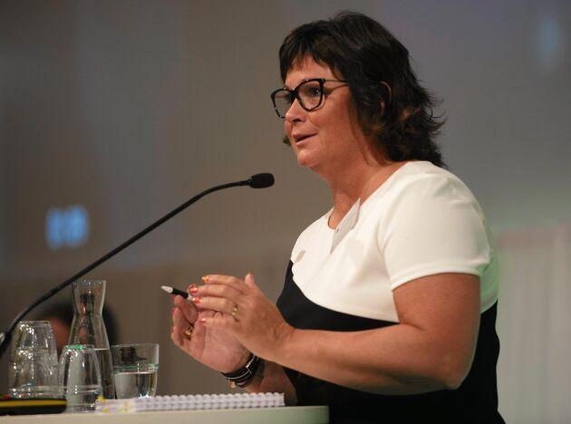 Jämställdheten måste genomsyra allt LRFs arbete, framhöll Lotta Folkesson.