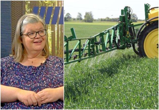 Antalet dispenser för växtskyddsmedel ökad under 2020. Men det är för tidigt att säga om det är en trend, menar ställföreträdande generaldirektören Agneta Westerberg.