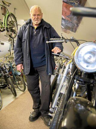 I Kurt Främst museum samsas 85 mopeder och 40 motorcyklar om utrymmet.