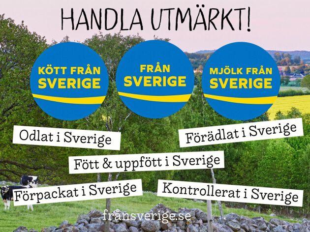 Från Sverigemärkningarna du ska leta efter i butik.