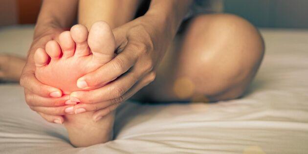 5 stretchövningar som förebygger och lindrar hälsporre
