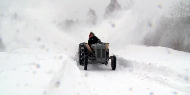 Här är Supergrållen som får snön att ryka