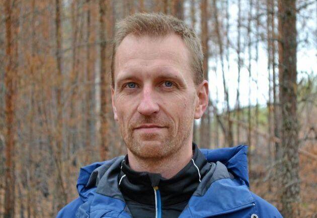 Andreas Eriksson, Skogsstyrelsen. Projektledare för SKA22.