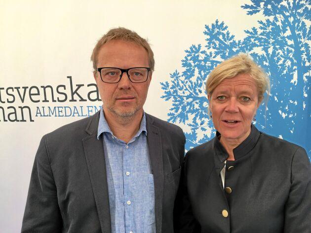 Thomas Bertilsson och Lena-Liisa Tengblad.