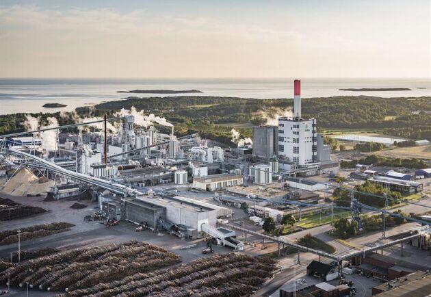 Värö bruk utanför Varberg har som mål att producera 850 000 ton sulfatmassa per år.